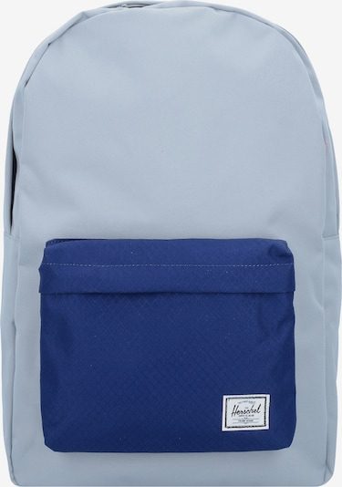 Herschel Rucksack 'Classic 17 Backpack' in blau / hellblau: Frontalansicht