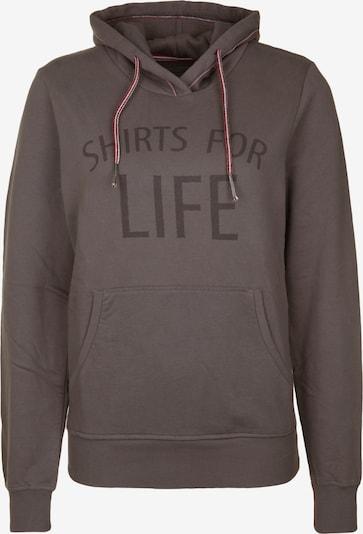 Shirts for Life Hoodie 'Elin' in rauchgrau, Produktansicht