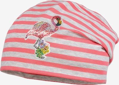 MAXIMO Mütze in grau / pink, Produktansicht