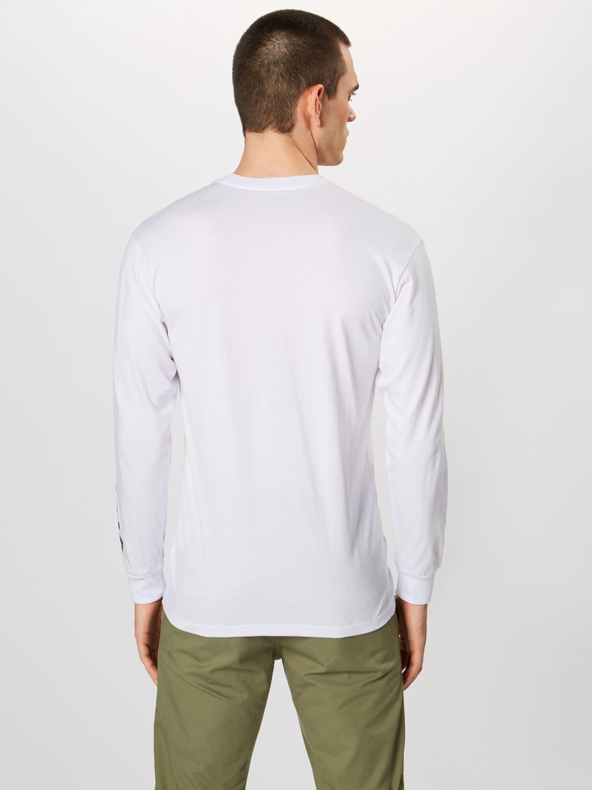 Vans Performance shirt NoirBlanc Ls' 'distorted T En TPOkXiwulZ