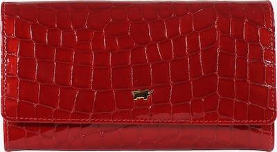 Braun Büffel Portemonnaie in rot, Produktansicht