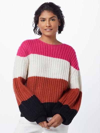 CATWALK JUNKIE Sweter w kolorze mieszane kolory / różowym: Widok z przodu