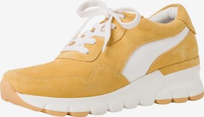 JANA Sneaker in gelb / weiß, Produktansicht