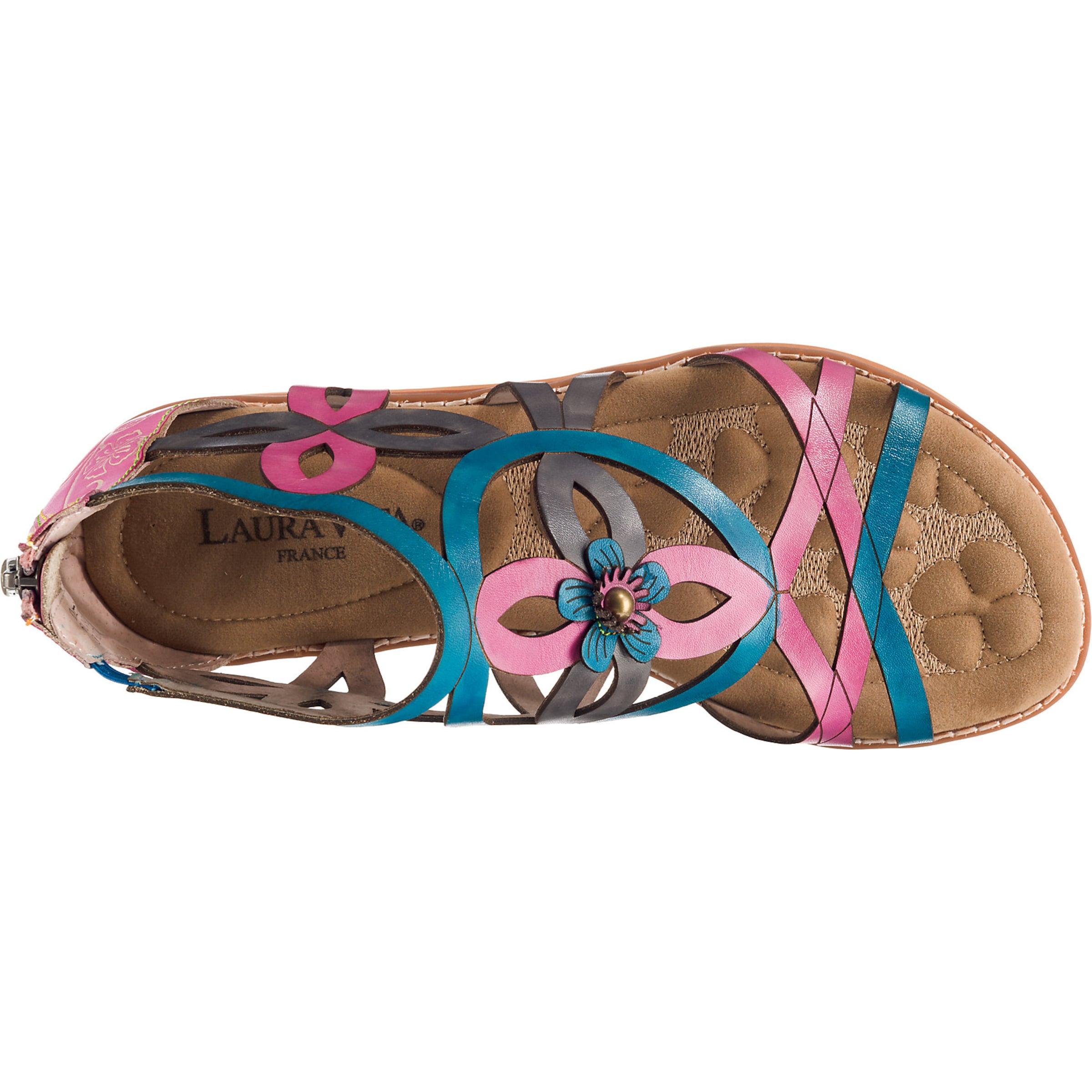 Vita Komfort Pink In Laura sandalen TürkisDunkelgrau tsxQrdChB