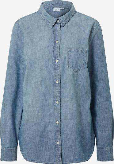 Missguided Kleid 'Textured Utility Shirt Dress' in blue denim, Produktansicht