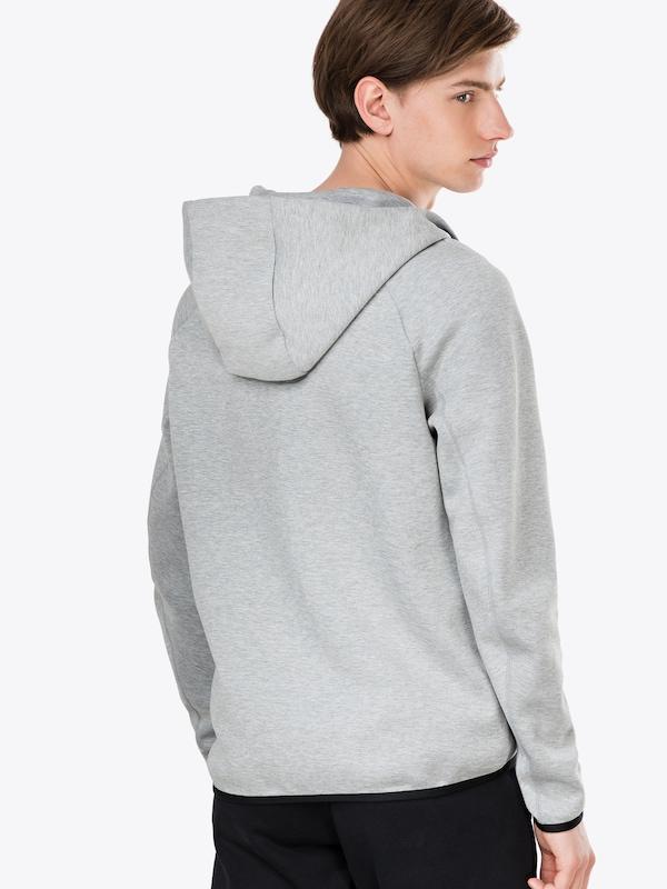 Tch En 'm Nsw Flc Gris De Hoodie Veste Nike Sportswear Survêtement Fz' Foncé fgYyvb76