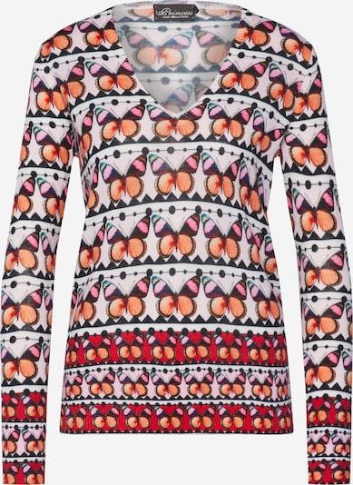 PRINCESS GOES HOLLYWOOD Pullover in orange / pink / rosa / schwarz, Produktansicht