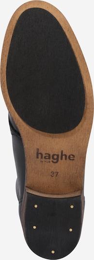 HUB Schnürschuhkun 'Chuckie' in schwarz: Ansicht von unten