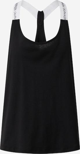 Calvin Klein Underwear Chemise de nuit en noir / blanc, Vue avec produit