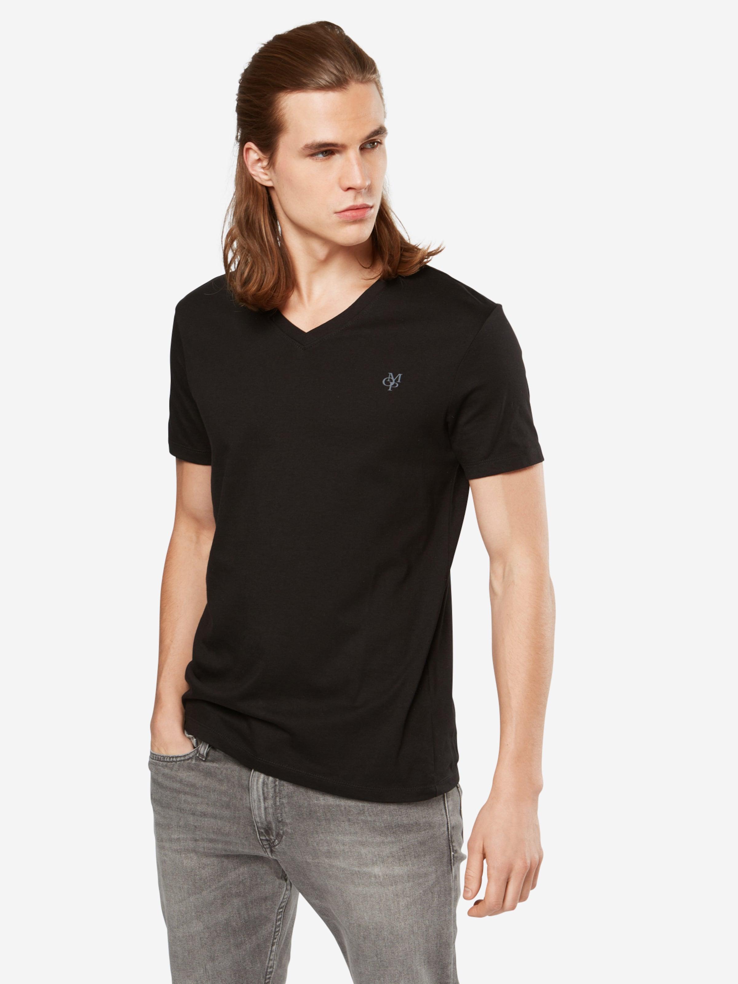 Marc O'polo En shirt Noir T QCdxhtsr
