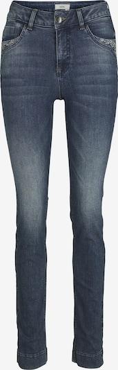heine Jeans Aleria mit Stickerei in blue denim, Produktansicht