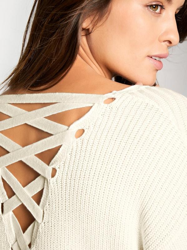 Ashley Brooke by heine Pullover mit Rückenausschnitt
