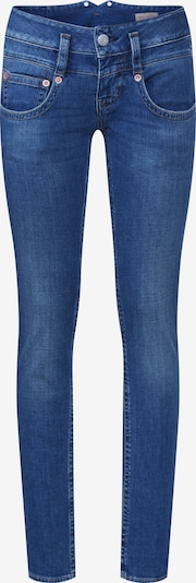 Herrlicher Jeans 'Pitch Slim Denim Stretch' in de kleur Blauw denim: Vooraanzicht