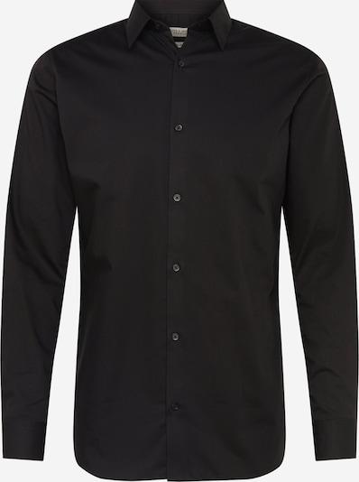 JACK & JONES Langarmhemd in schwarz, Produktansicht