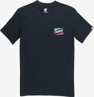 ELEMENT T-Shirt ' INTERNATIONAL SS ' in schwarz, Produktansicht