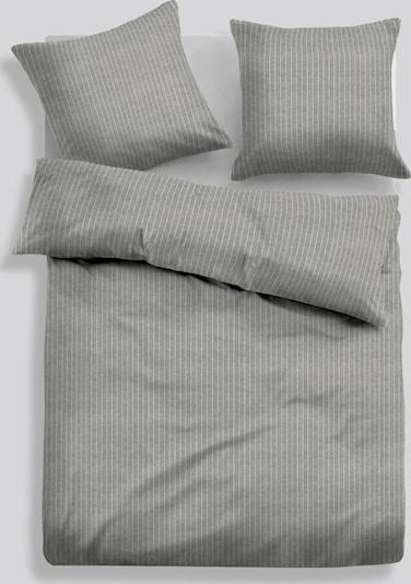 TOM TAILOR Bed Bettwäsche in Melange-Optik in grau, Produktansicht