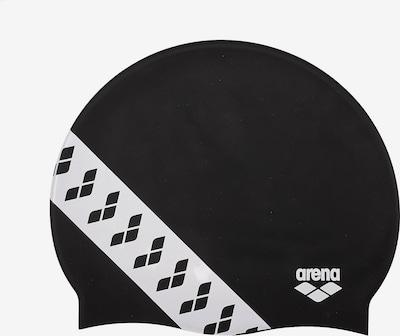 ARENA Badekappe 'Unix II' in schwarz / weiß, Produktansicht