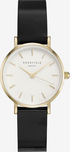 ROSEFIELD Uhr in gold / schwarz, Produktansicht