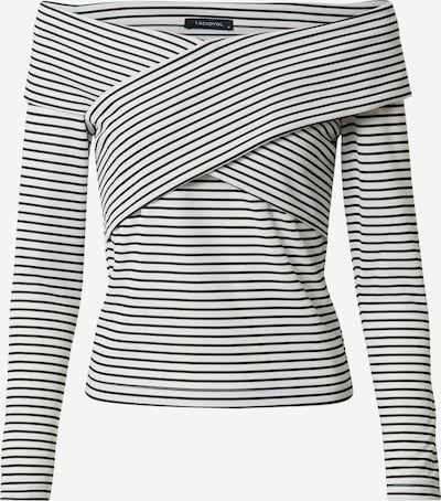 Trendyol Shirt in schwarz / weiß, Produktansicht