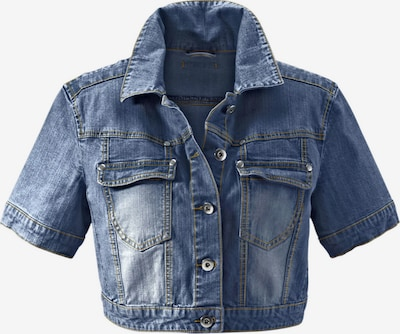 ANISTON Jeansjacke in blue denim, Produktansicht
