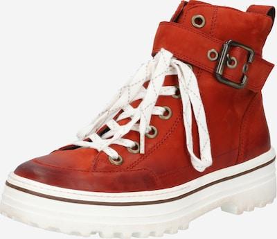 Suvarstomieji kulkšnis dengiantys batai iš Paul Green , spalva - raudona, Prekių apžvalga