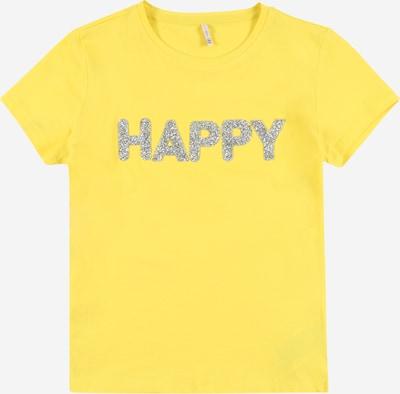 KIDS ONLY Tričko 'VOYAGE LIFE' - žlutá / stříbrná, Produkt