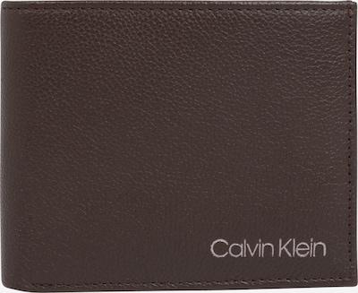 Calvin Klein Geldbörse 'BIFOLD' in dunkelbraun, Produktansicht