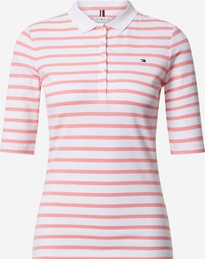 TOMMY HILFIGER T-shirt en rose / blanc, Vue avec produit