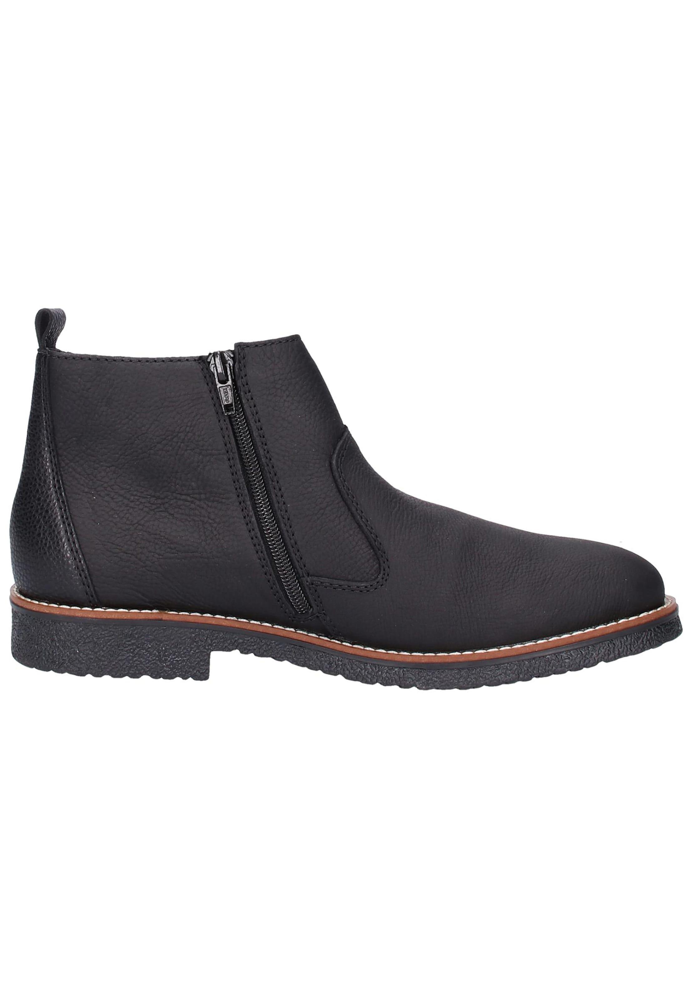 In Chelsea In Chelsea Rieker Schwarz Rieker boots boots vNO0wPyn8m