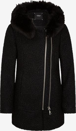 s.Oliver BLACK LABEL Jacke in schwarz, Produktansicht