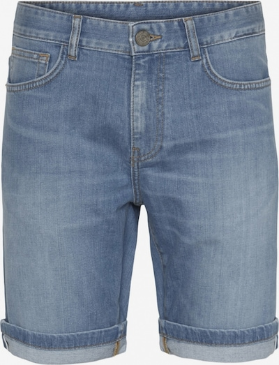 KnowledgeCotton Apparel Hose ' OAK light blue selvedge denim shorts ' in hellblau, Produktansicht