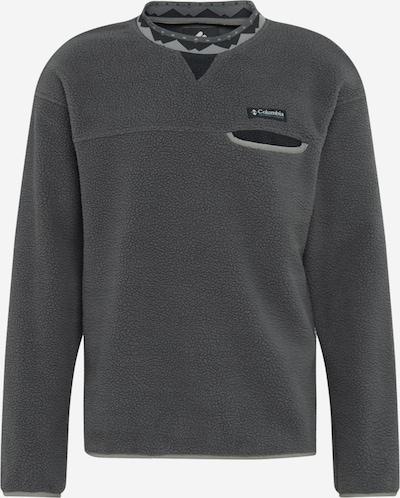 COLUMBIA Sport-Pullover 'Wapitoo™' in dunkelgrau / schwarz, Produktansicht