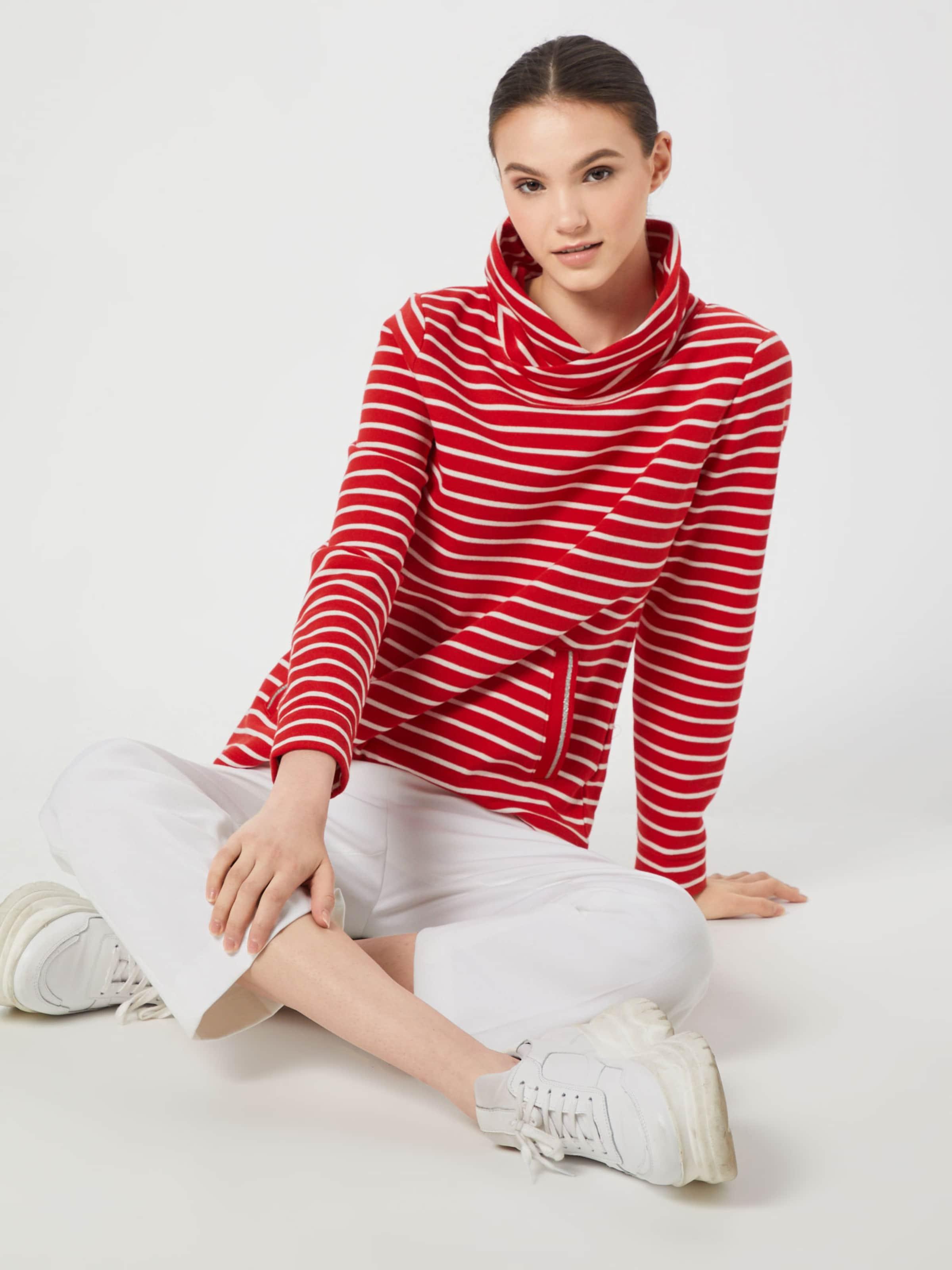 S RotWeiß Sweatshirt In oliver Sweatshirt S oliver WD9YHbe2IE