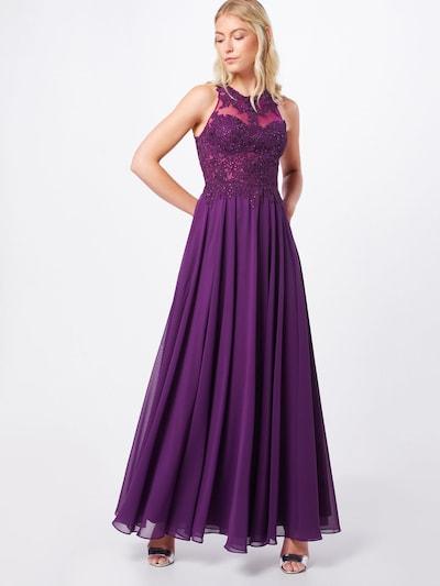 mascara Abendkleid 'LACE EMB' in pflaume, Modelansicht