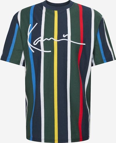 Karl Kani Shirt in navy / gelb / grün / mischfarben / weiß, Produktansicht