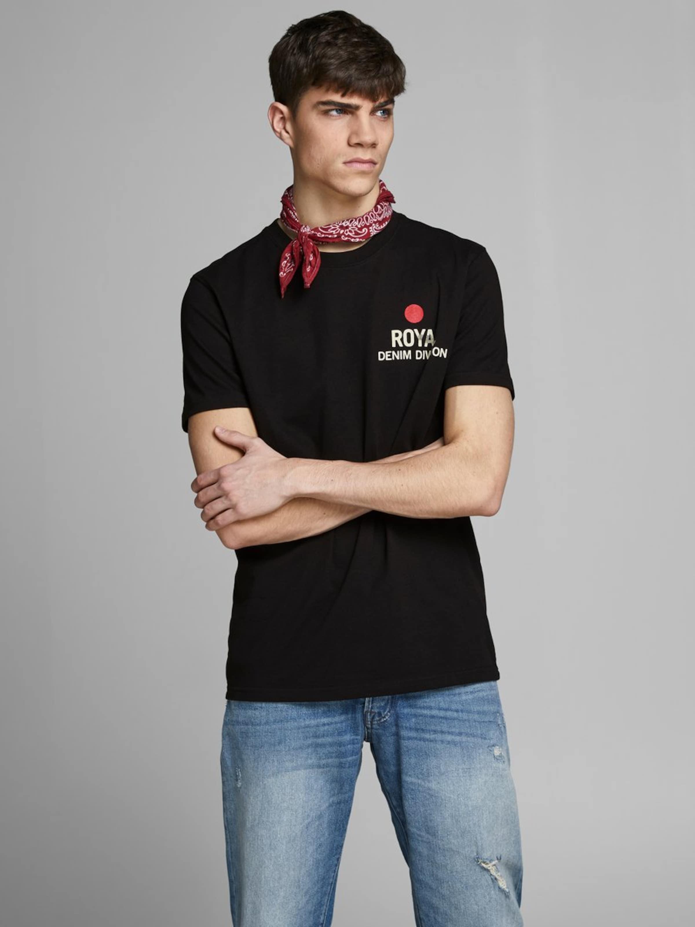 Jackamp; shirt T In Jones RotSchwarz Weiß VqUzpSGM