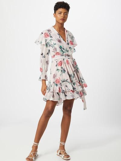 Forever Unique Kleid in beige / mischfarben, Modelansicht