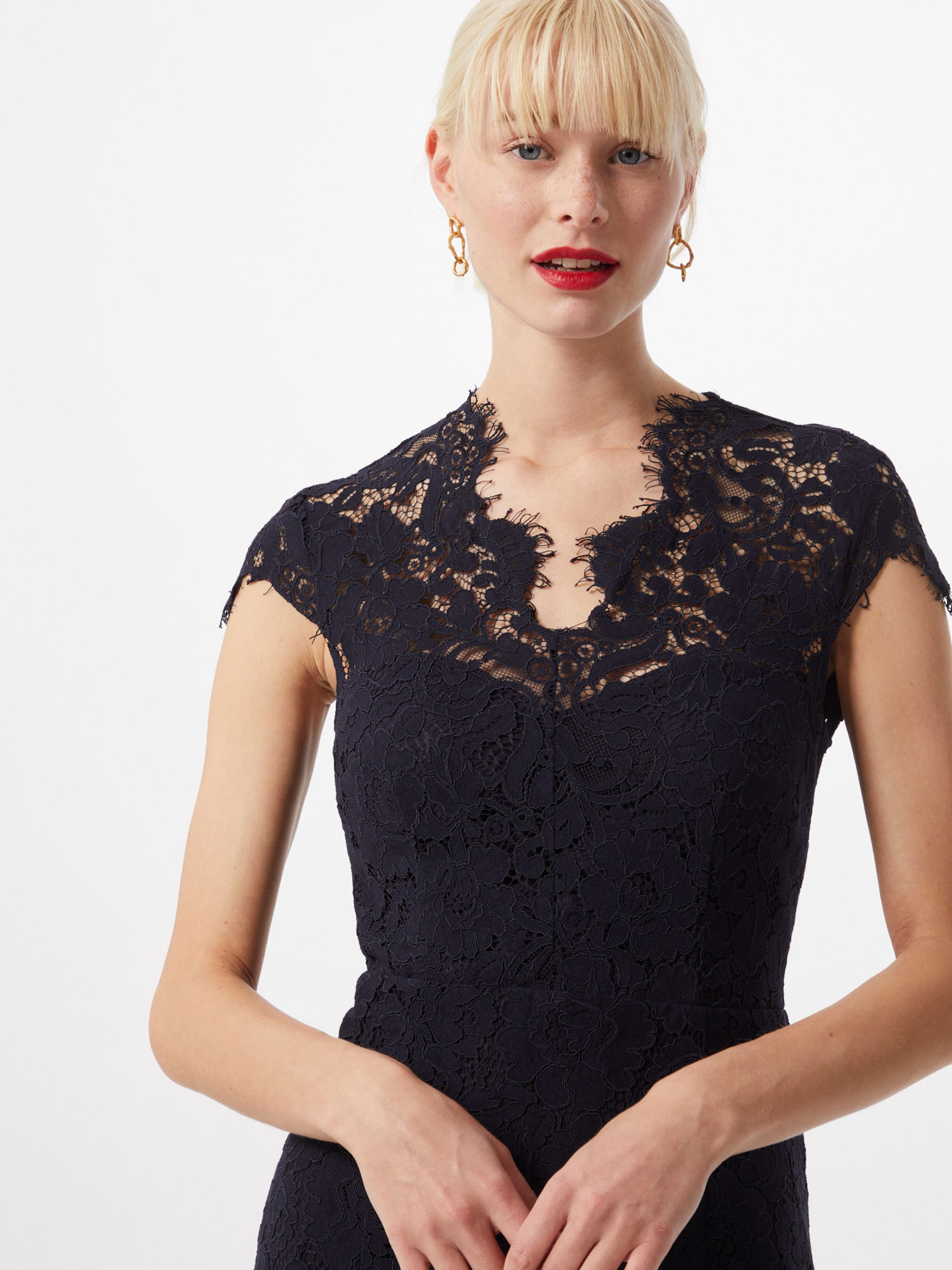 IVY & OAK Kleid 'Lace' in dunkelblau