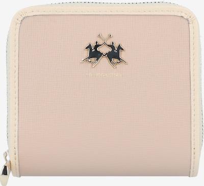 La Martina La Portena Geldbörse Leder 10 cm in beige, Produktansicht