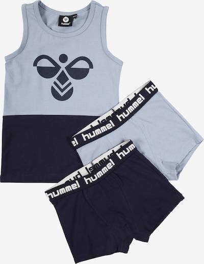 Hummel Sous-vêtement de sport 'Shane' en bleu marine / bleu fumé, Vue avec produit