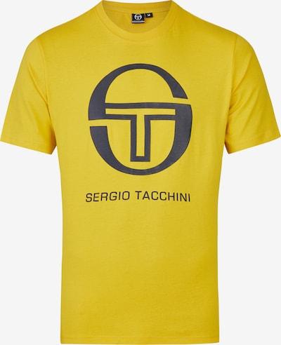 Sergio Tacchini T-Shirt 'Iberis' in marine / gelb: Frontalansicht