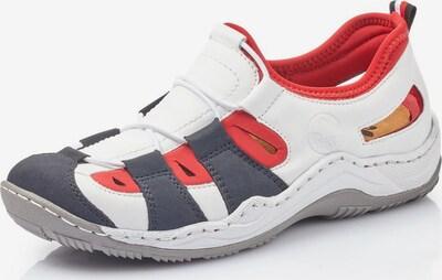 RIEKER Slip On in navy / rot / weiß, Produktansicht