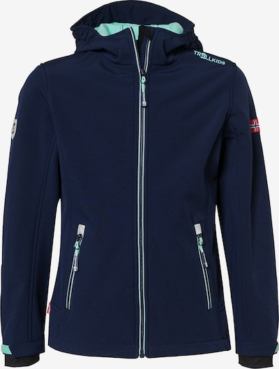 TROLLKIDS Jacke 'Fjord' in blau / türkis, Produktansicht