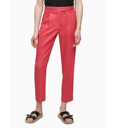 Calvin Klein Hose in dunkelpink, Modelansicht