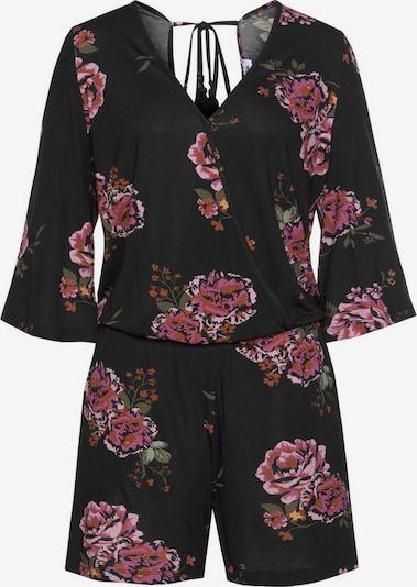 s.Oliver s.Oliver Beachwear Strandoverall in schwarz, Produktansicht