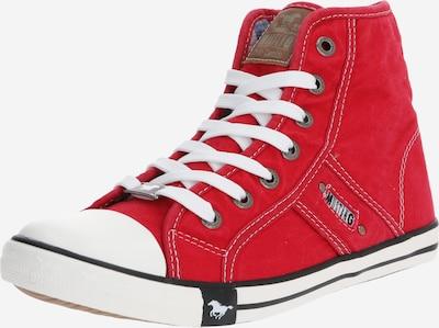 MUSTANG Sneaker in rot / weiß, Produktansicht