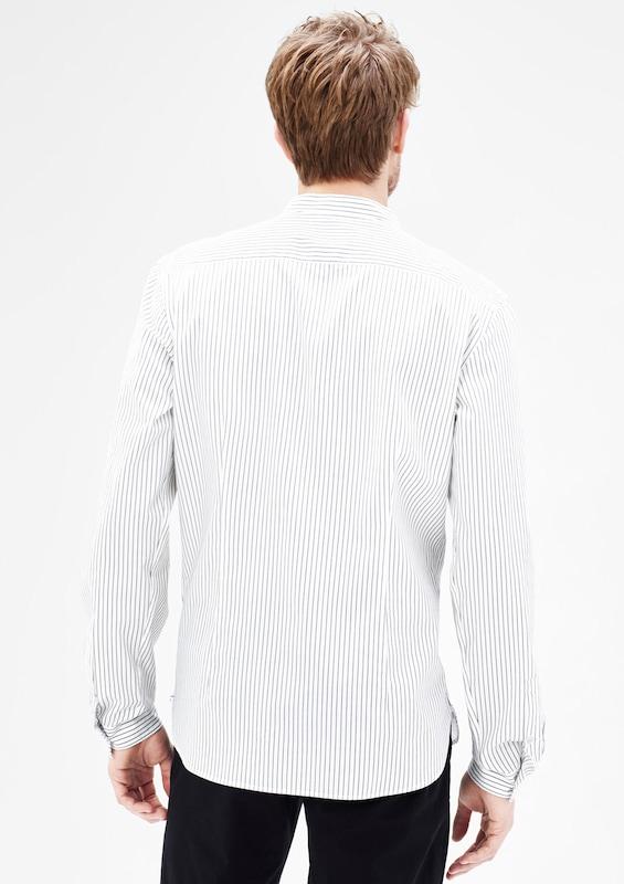 s.Oliver BLACK LABEL Modern Fit: Hemd mit Stehkragen