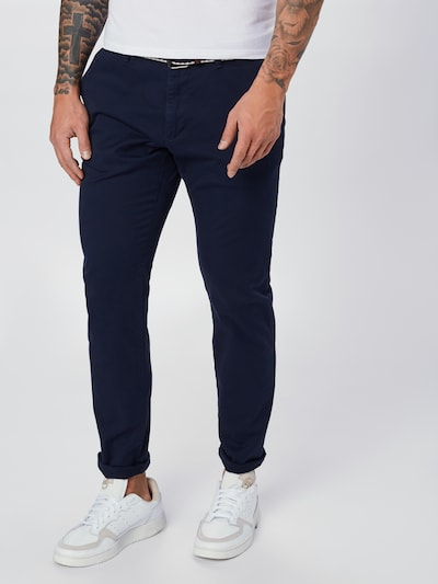 s.Oliver Chino in de kleur Donkerblauw, Modelweergave