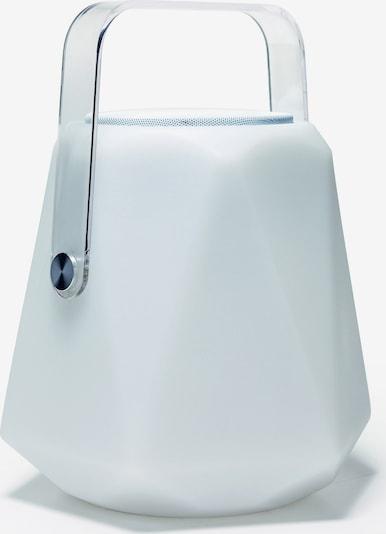 FAVOURITE Tischlampe 'Speaker' in weiß: Frontalansicht