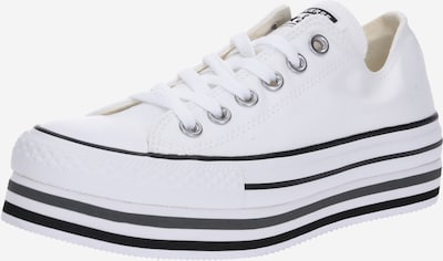 CONVERSE Baskets basses 'CHUCK TAYLOR ALL STAR PLATFORM LAYER - OX' en blanc, Vue avec produit